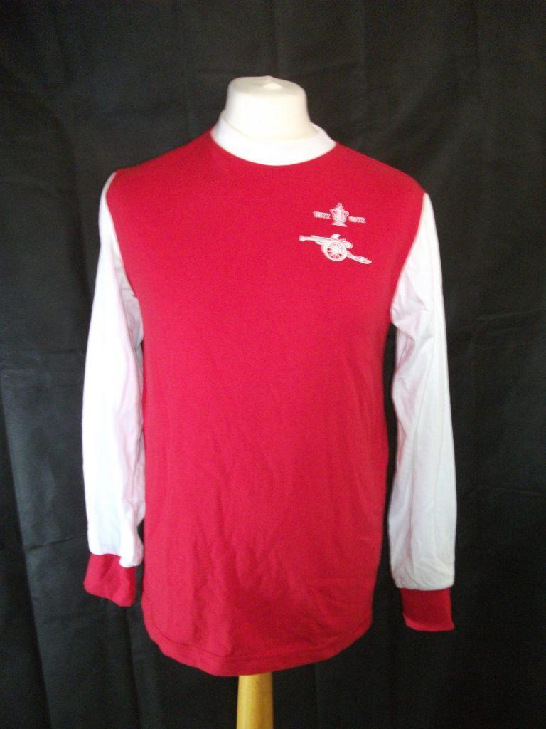 Replica Arsenal 1972 FA Cup Final shirt Retro1
