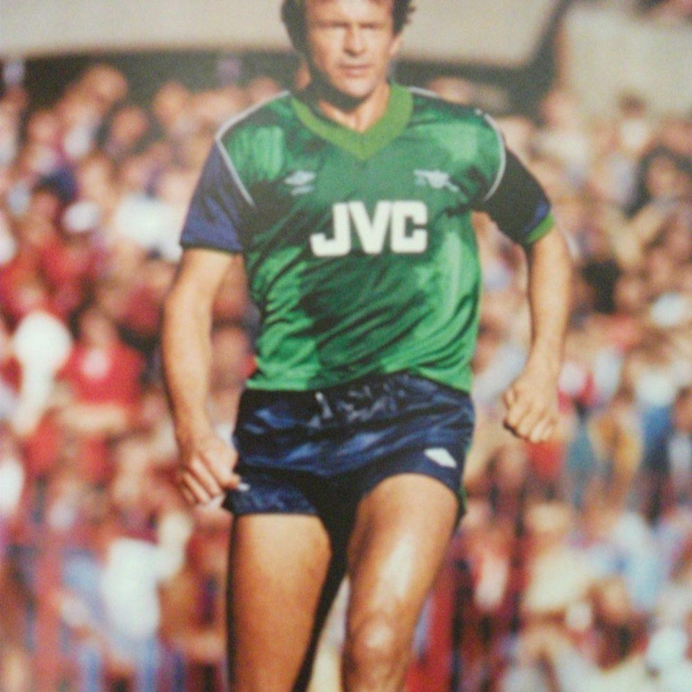 sale retailer 2f4cc bce8b Replica Arsenal 1982 away football shirt