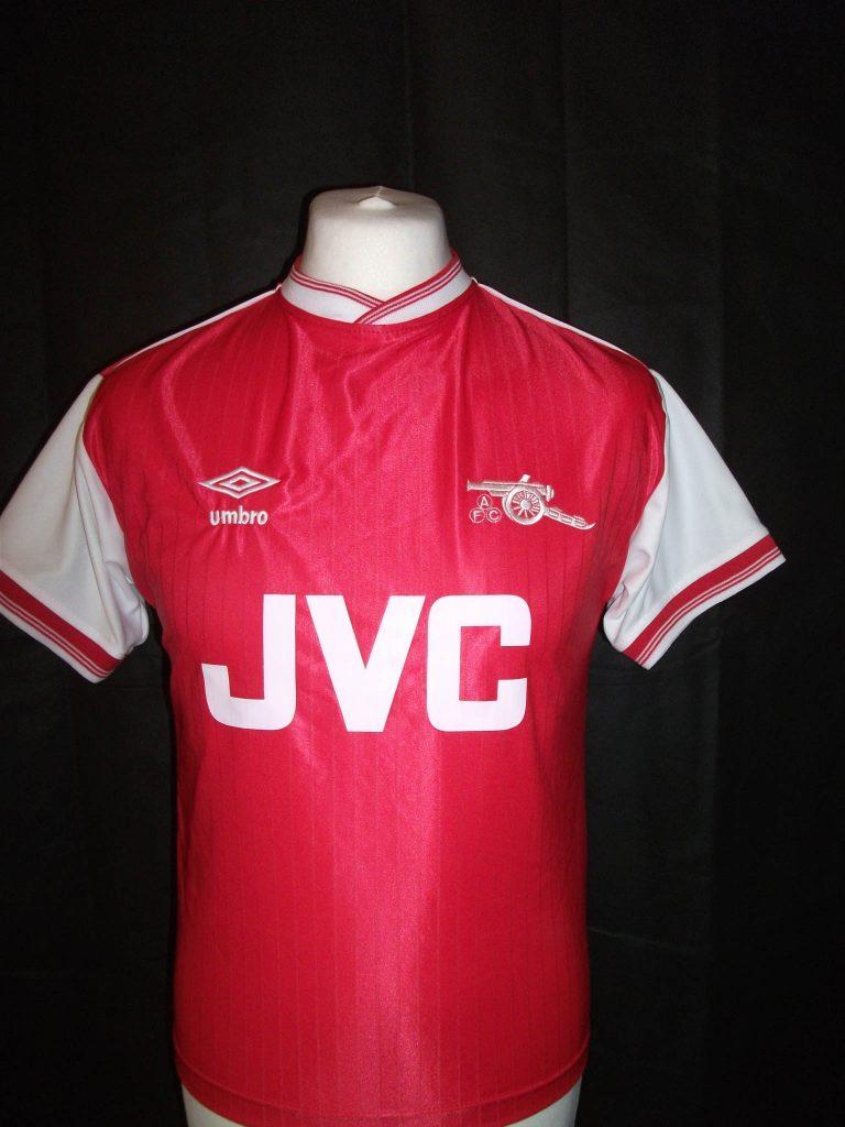 Replica Arsenal 1984 football shirt1