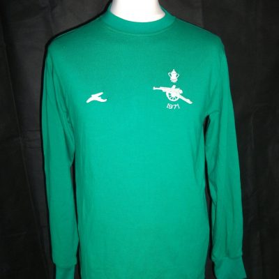 Replica Arsenal 1971 FA Cup Final Goalkeeper shirt1