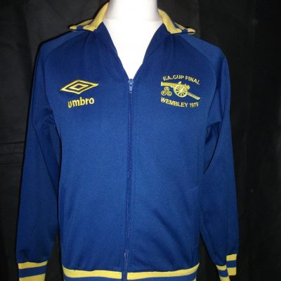 Replica Arsenal 1979 FA Cup track jacket1