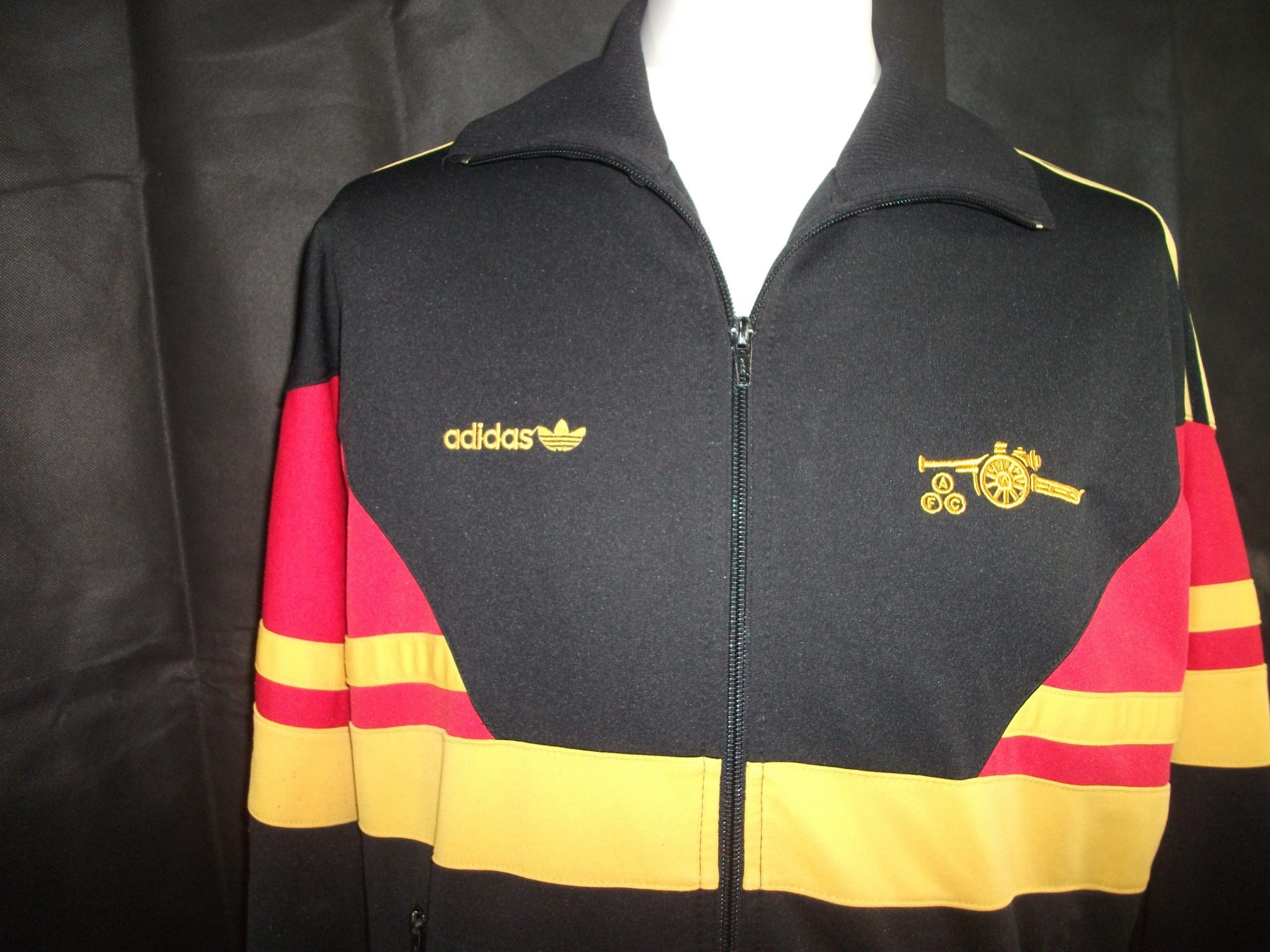 Vintage Adidas 1980 S Arsenal Track Jacket 2 On The Ball