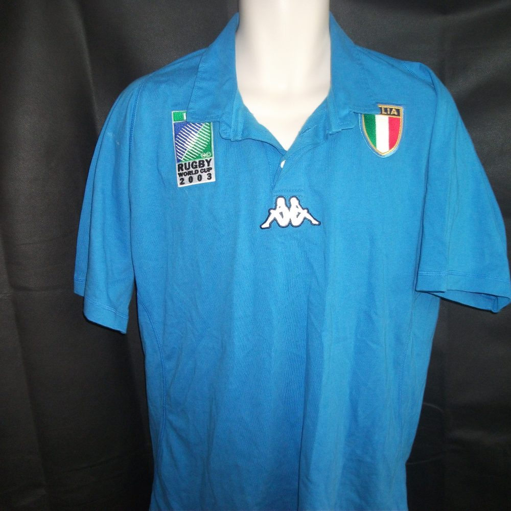 Vintage Kappa Italy Rugby Union shirt - On The Ball Retro 97d5e50b4